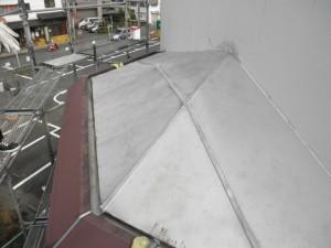 筑紫野市 酒屋 屋根塗装工事 施工前