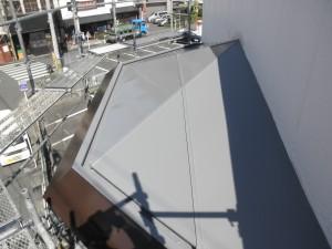 筑紫野市 酒屋 屋根塗装工事 施工後