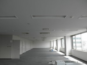 福岡市博多区 テナント 天井塗装工事 施工前