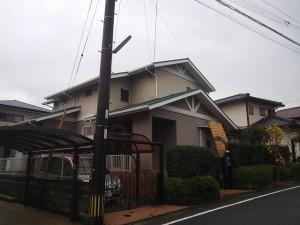 筑紫野市 S様邸 屋根塗装工事 完了