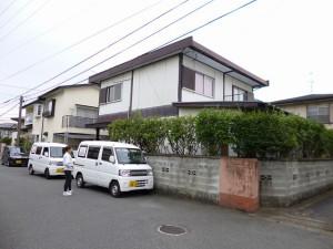 筑紫野市 S様邸 外壁 屋根塗装工事 施工前