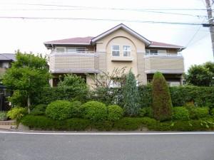 筑紫野市 T様邸 外壁 屋根塗装工事 施工前