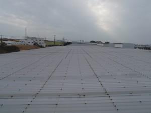 福岡県 大川市 ルミエール 屋根塗装工事 施工前