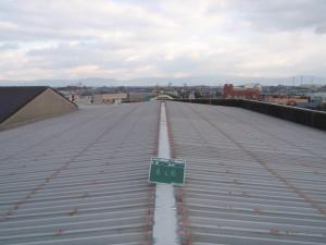 福岡県 大川市 丸洋物産 屋根塗装工事 施工前