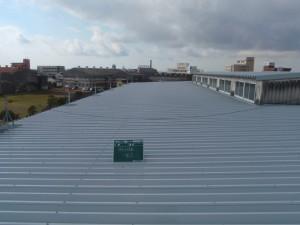 福岡県 大川市 コーワ倉庫 屋根塗装工事 完了
