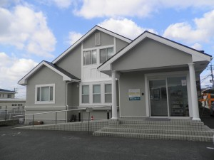 福岡県 古賀市 おおつか病院 外壁 屋根 塗装工事 完了