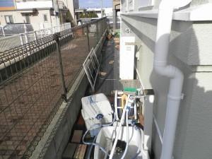 福岡県 古賀市 おおつか病院 防草土工事 施工前