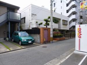福岡市中央区 M様邸 外壁塗装工事 施工前