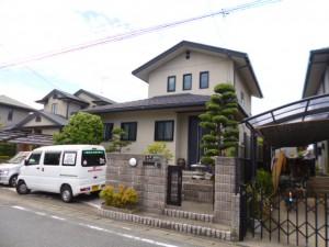福岡県 古賀市 Y様邸 住宅塗装工事 施工前
