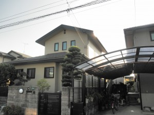 福岡県 古賀市 Y様邸 住宅塗装工事 完了