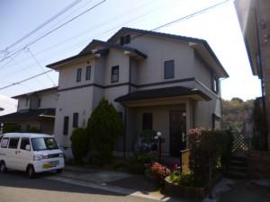筑紫野市 T様邸 外壁 屋根 塗装工事 施工前