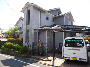 筑紫野市 N様邸 住宅塗装工事 施工前