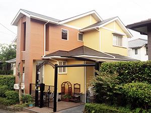 筑紫野市 N様邸 住宅塗装工事 完了