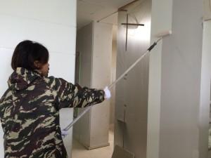 久留米市 鶴久 歯科医院 内部壁塗装工事