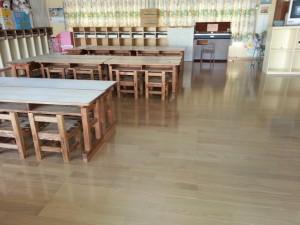 太宰府市 ちいさこべ幼稚園 フローリング張替え工事 完了