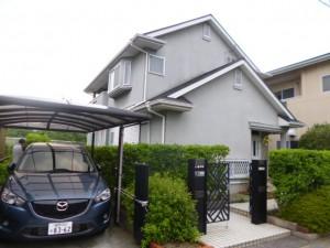 筑紫野市 N様邸 外壁 屋根 塗装工事 施工前