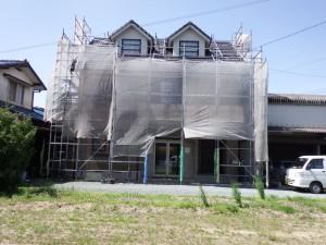 小郡市 T様邸 外壁 屋根 塗装工事 施工前