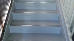 福岡市 博多区 山広商会 階段塗装工事 完了