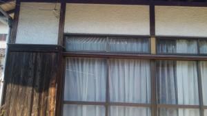 大野城市 付け柱 塗装工事 施工前