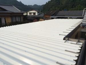 熊本県 光林寺 折半屋根 塗装工事 完了