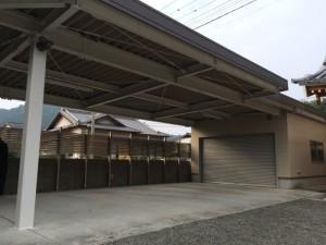 熊本県 光林寺 鉄骨 塗装工事 完了