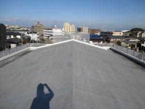 福岡市 東区 秋山マンション 屋上 防水工事 施工前