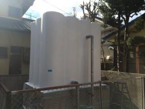 福岡市 城西レジデンス 受水槽 塗装工事 完了