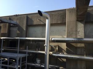 福岡市中央区 天神ビル新館 ダクト塗装工事 完了