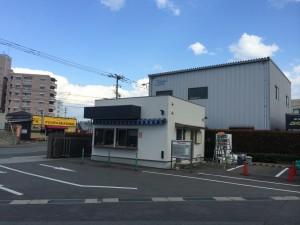 筑紫野市 ヤクルト工場 警備員室 塗装工事 完成