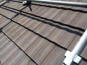 小郡市 田中様 社屋 屋根 塗装工事 高圧洗浄後