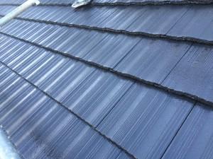 小郡市 田中様 社屋 屋根 塗装工事 上塗り完了