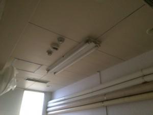 太宰府市 サンホーム太宰府 LED取り換え工事 施工前