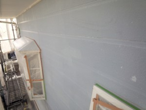 佐賀県 中田様邸 外壁塗装 下塗り完了