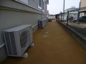 福岡県 古賀市 おおつか病院 防草土工事 完了