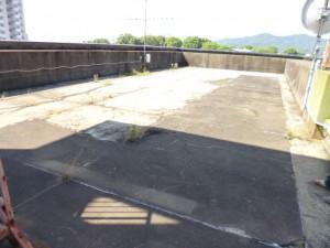 筑紫野市 筑寶ビル 屋上防水工事 施工前