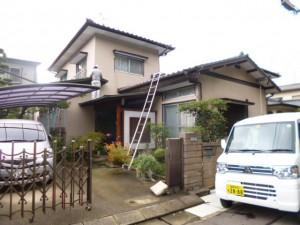 太宰府市 O様邸 外壁 屋根 塗装工事 施工前