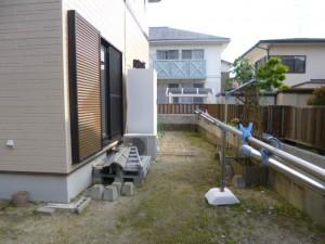 筑紫野市 N様邸 テラス取付け工事 施工前