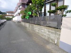 太宰府市 Y様邸 フェンス取付け工事 完了