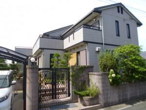 福岡市 東区 H様邸 外壁屋根 塗装工事 施工前