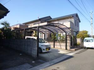 福岡市 東区 H様邸 外壁屋根 塗装工事 完了