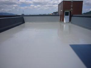 筑紫野市 筑寶ビル 屋上防水工事 完了