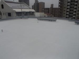 大野城市 坂井ビル 屋上防水工事 完了