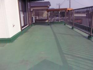 太宰府市 H様邸 防水工事 高圧洗浄完了