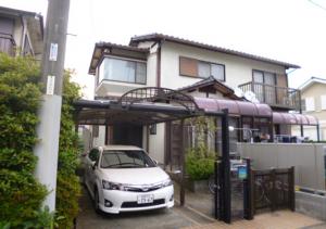 筑紫野市 K様邸 外壁 塗装工事 施工前