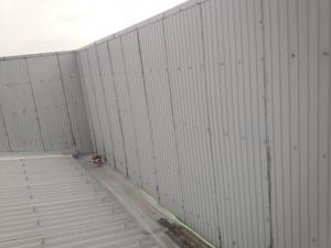 福岡市 博多区 STS 金属壁 塗装工事 施工前