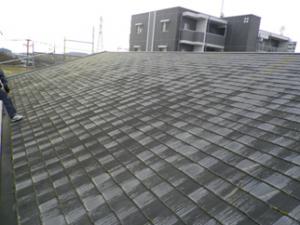 筑紫野市 スカイハイツFⅢ 屋根 改修工事 施工前