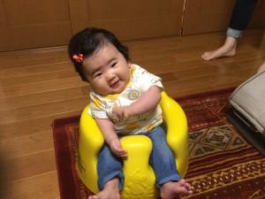 すみれ♡ 黄色のバンボ☆
