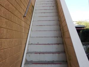 筑紫野市 Tコーポ 階段 塗装工事 施工前