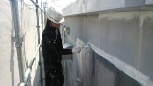 大野城市 安藤ビル 外壁 塗装工事
