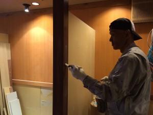 福岡市 中央区 大名店舗 塗装工事